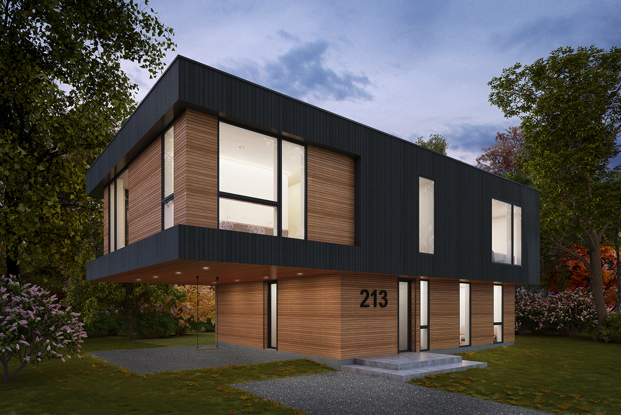 Cantilever House | Collective Architecture | St. John's, NL